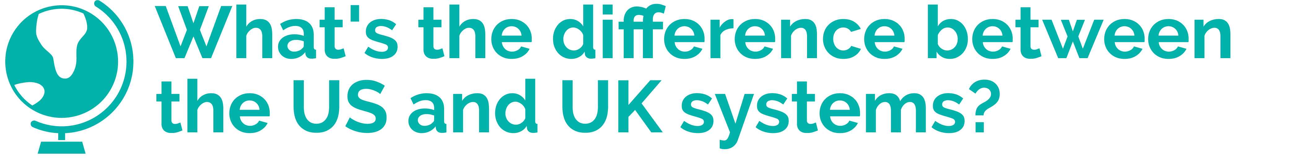 What's the difference bewteen the US Uk and EU healthcare systems?
