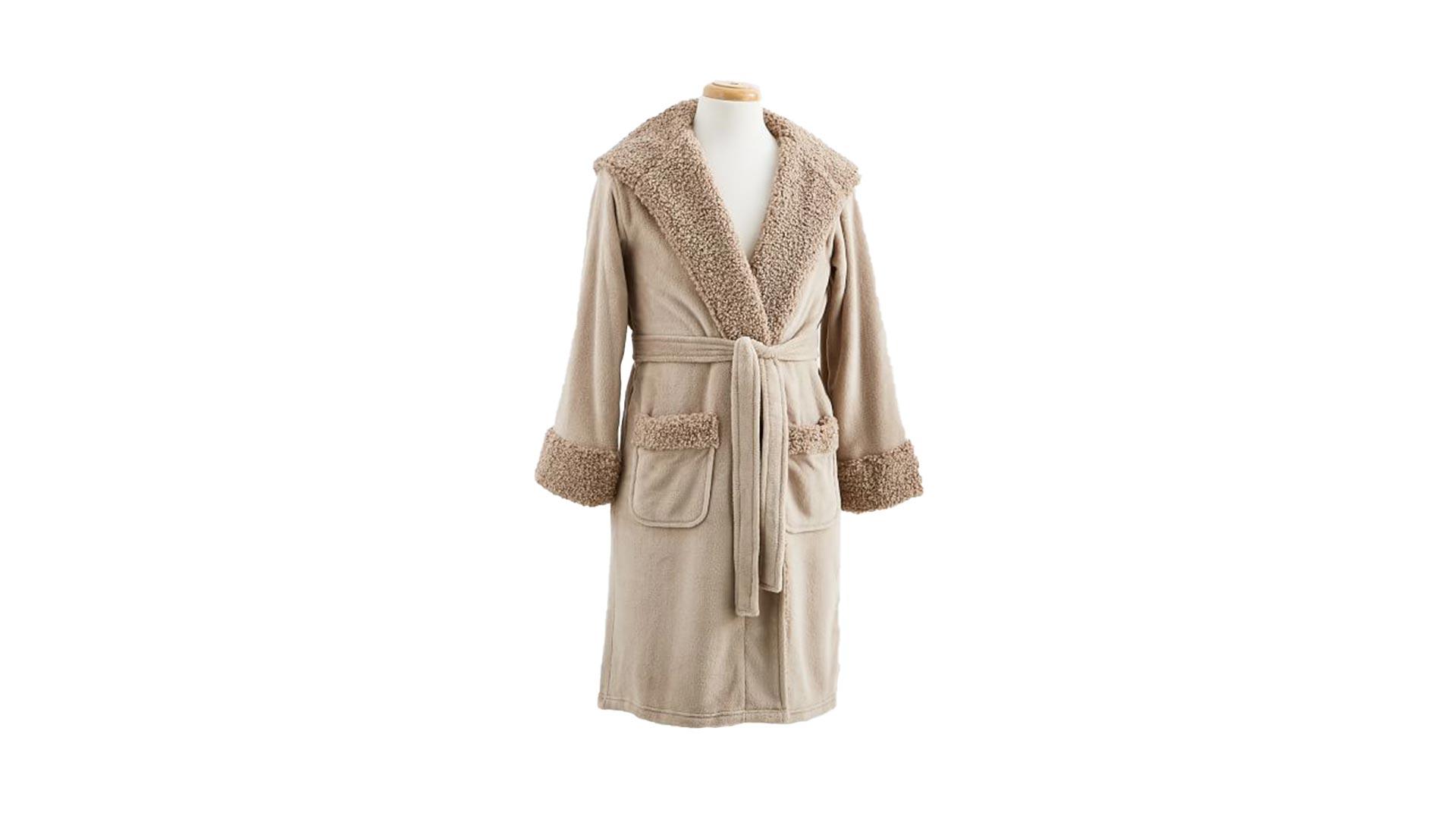 Faux Fur Robe