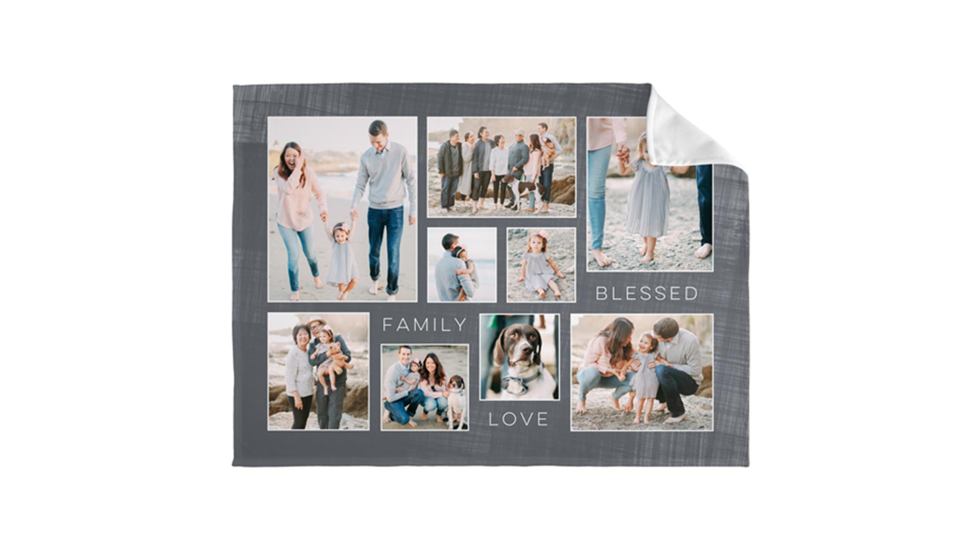 Collage Photo Blanket