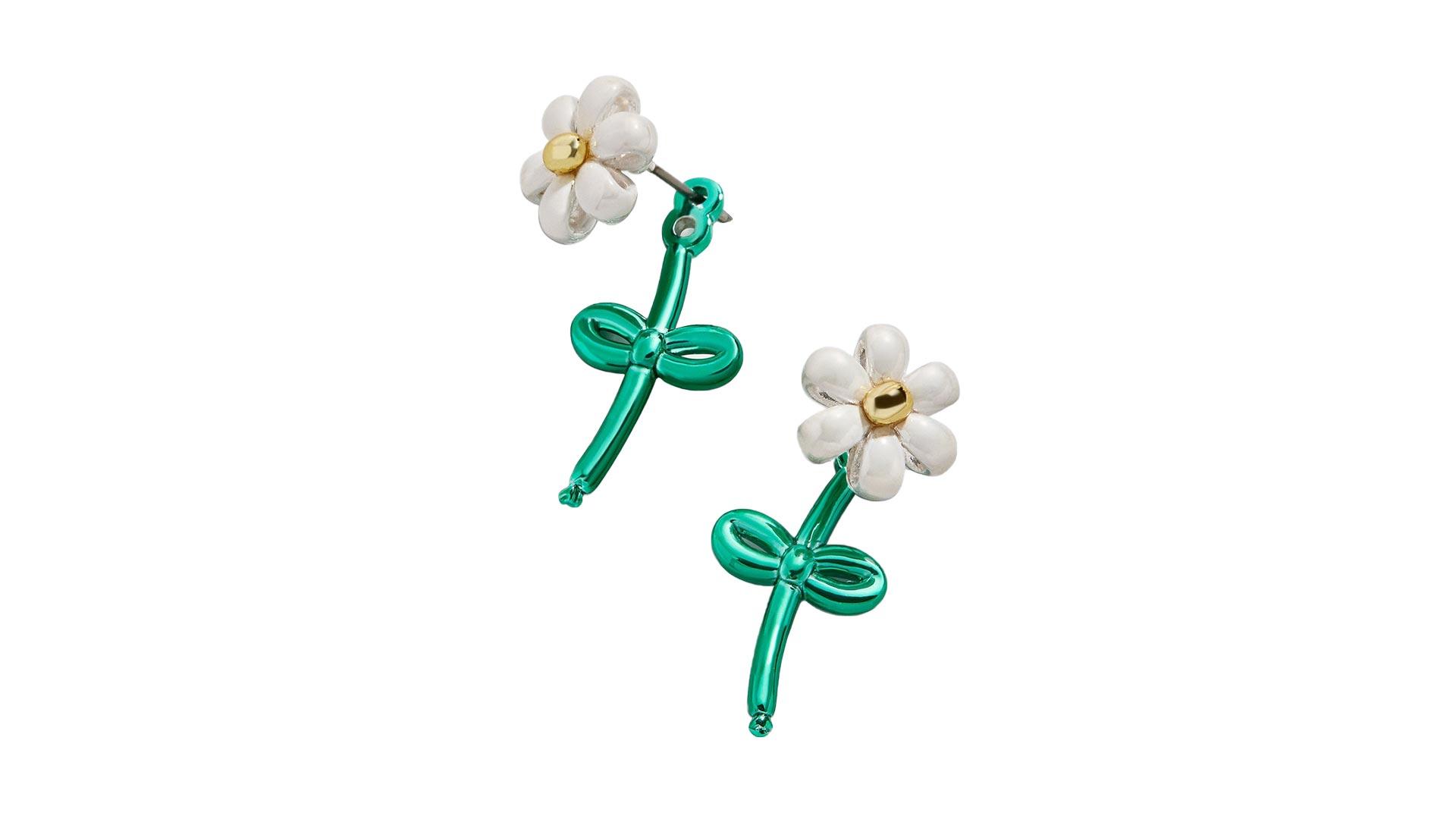 Flower Balloon Earrings