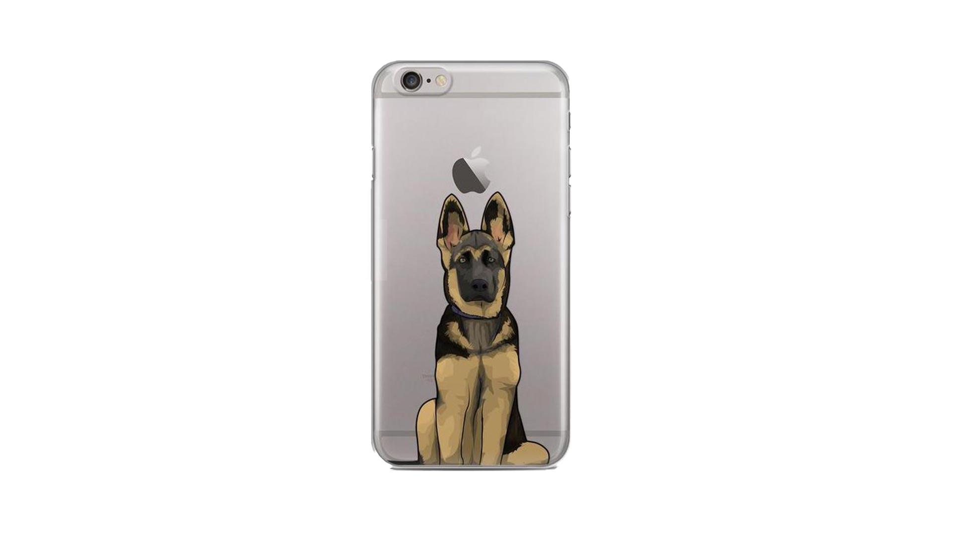 Custom Dog iPhone Case