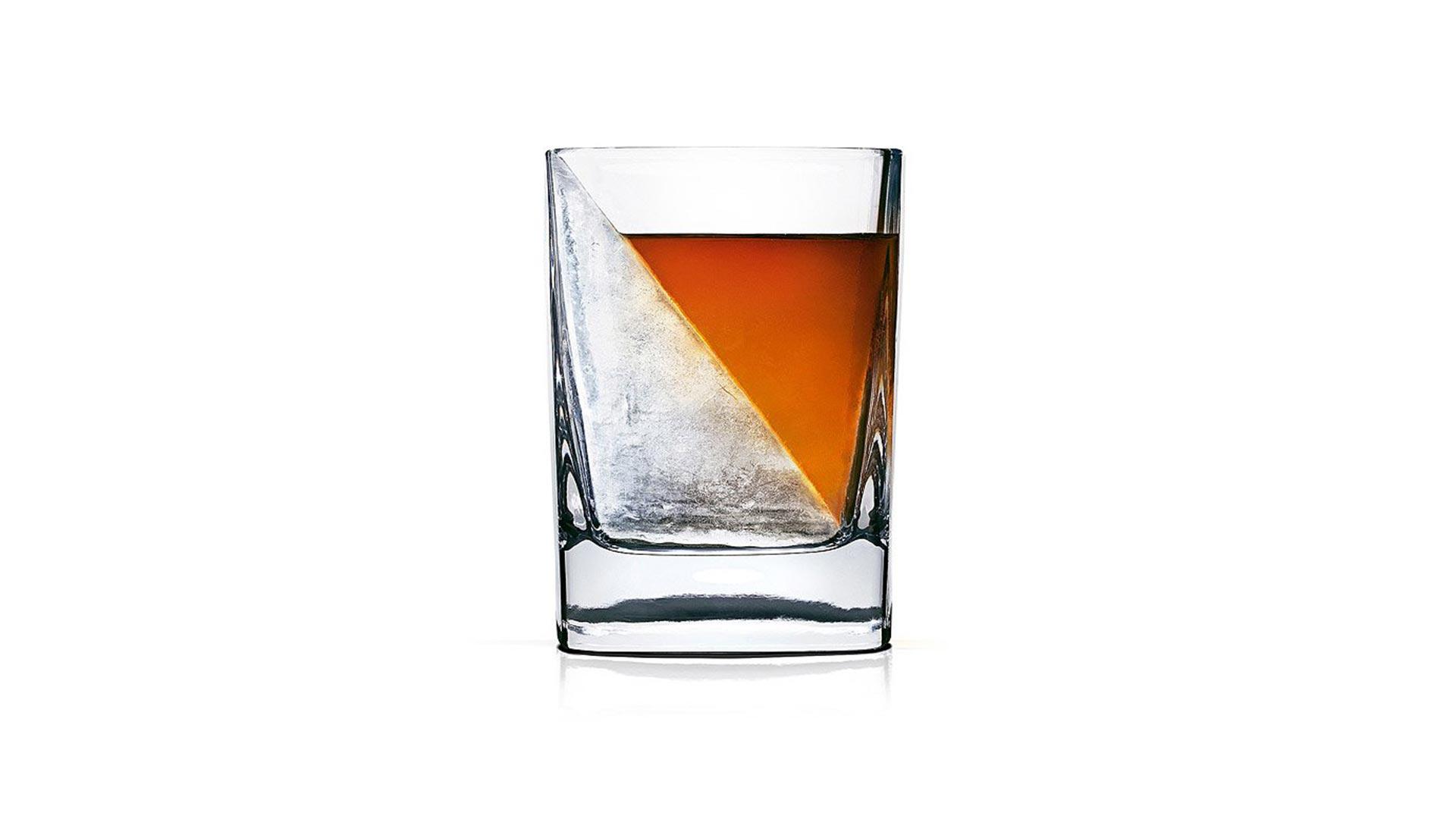 Whiskey Wedge/Glass