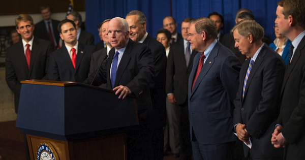 Gang of Eight news conference